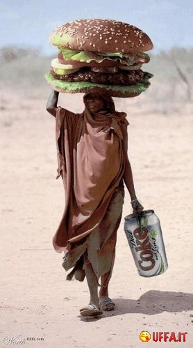 Foto divertente: Mc Donald's in Africa