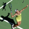 La Sharapova serve un gatto